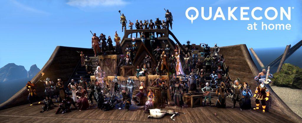 Kiltatapahtuma QuakeConissa yhteistyössä Bethesda Nordicin kanssa!